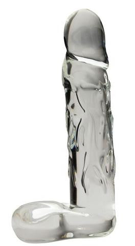 Blown Glass Realistic 8 Inch Dildo