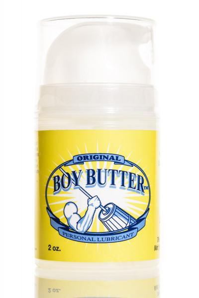 Boy Butter Original Oil Based Lubricant with Coconut Oil 2 oz pump