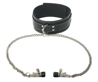 Coveted Vegan Collar and Clamp Set