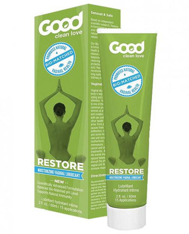 Good Clean Love Bio Match Restore Moisturizing Vaginal Lubricant 2oz