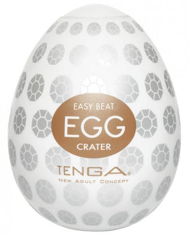 Tenga Egg Disposable Penis Masturbator - Crater