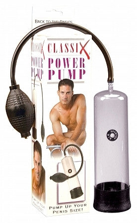 Classix Power Penis Pump  with box