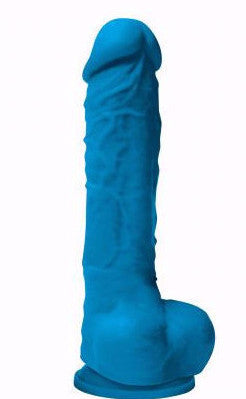 Colours Pleasure Realistic Dildo 5 Inches Blue