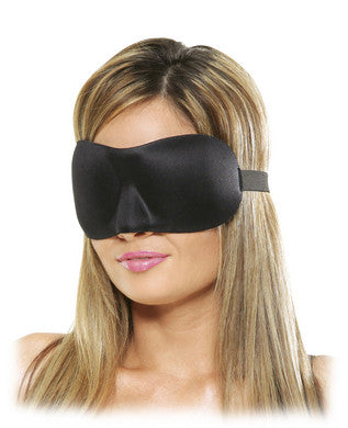 Deluxe Fantasy Love Mask Black