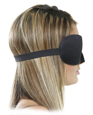 Deluxe Fantasy Love Mask Black side