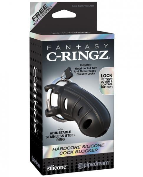 Fantasy C-Ringz Hardcore Silicone Cock Blocker  package