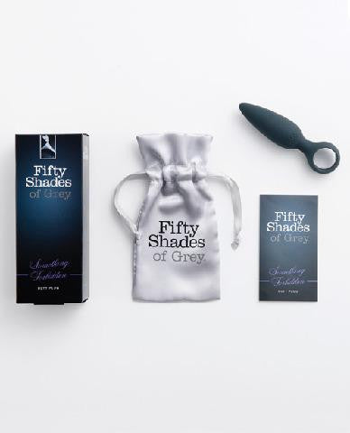 Fifty Shades of Grey Something Forbidden Butt Plug package