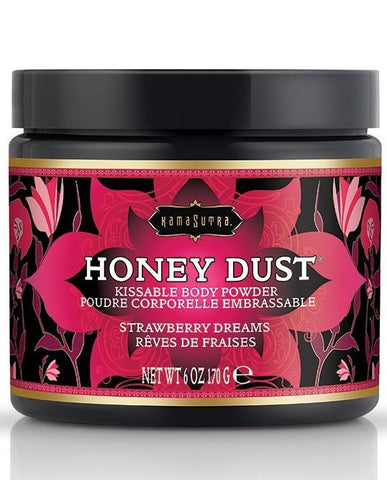 Kama Sutra Honey Dust Kissable Body Powder - Strawberry Dreams