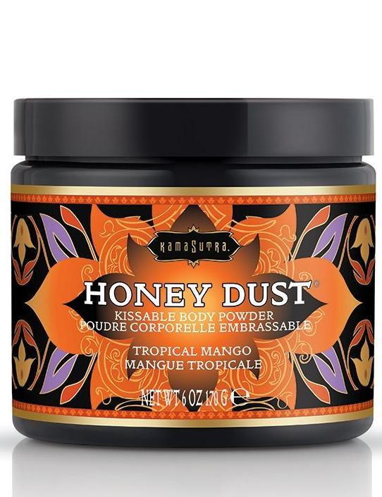 Kama Sutra Honey Dust Kissable Body Powder - Tropical Mango