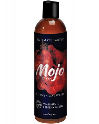 Mojo Natural Warming Libido Glide  by Intimate Earth 4 oz