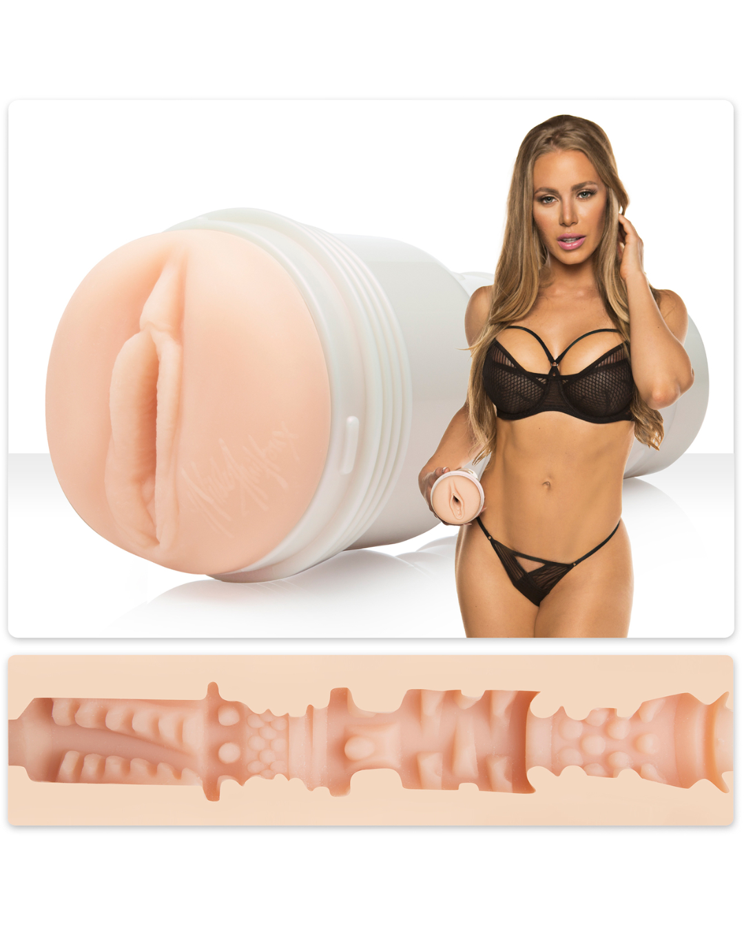 Fleshlight Girls Nicole Aniston - Fit Texture Vagina