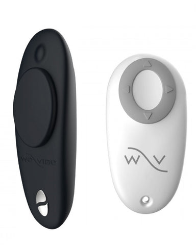 We-Vibe Moxie Hands-Free Remote or App Controlled Panty Vibrator - Black