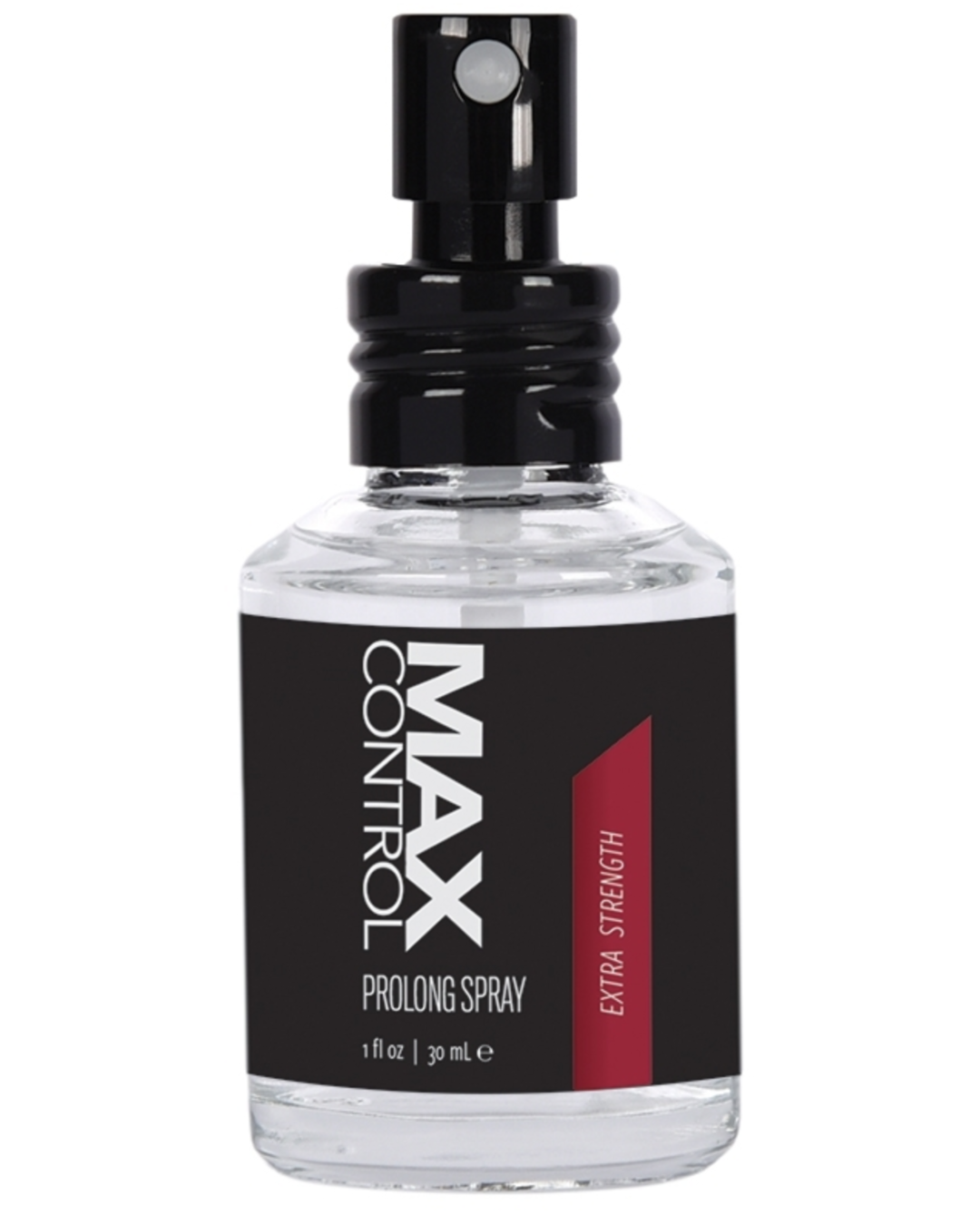 Max Control Prolong Spray Extra Strength - 1 oz close up of bottle