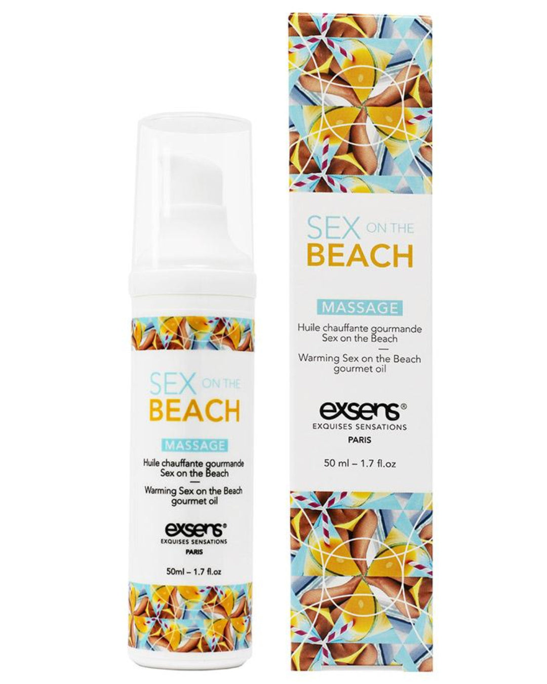 Exsens Flavored Warming Massage Oil - Sex on the Beach 50ml
