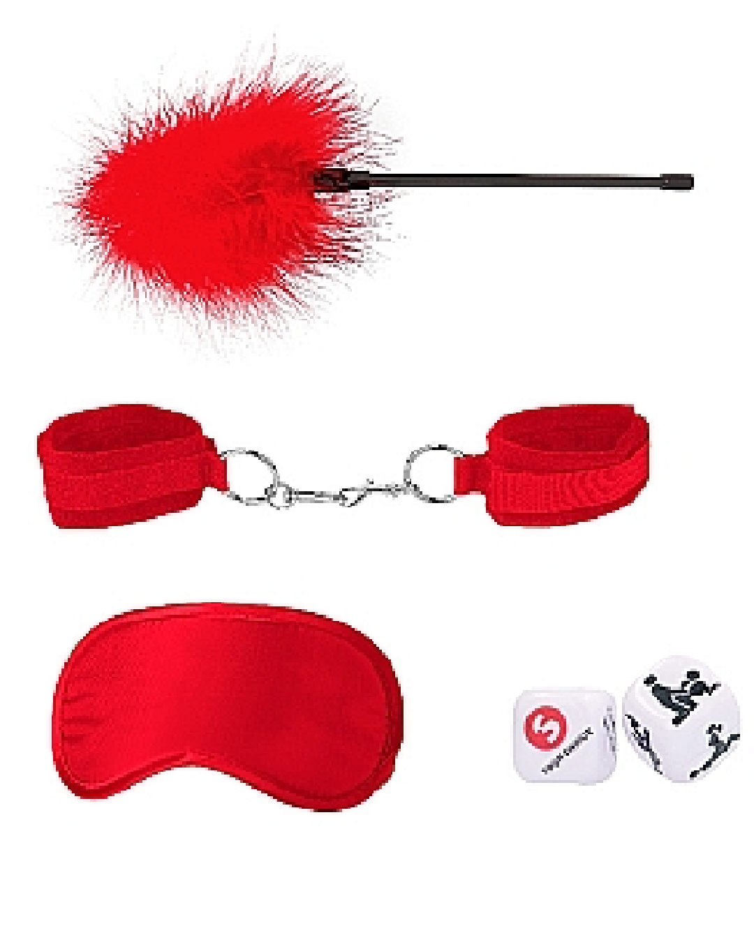 Ouch! Introductory Bondage Kit #2 - Red