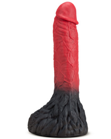 The Realm Lycan Silicone dildo on white background