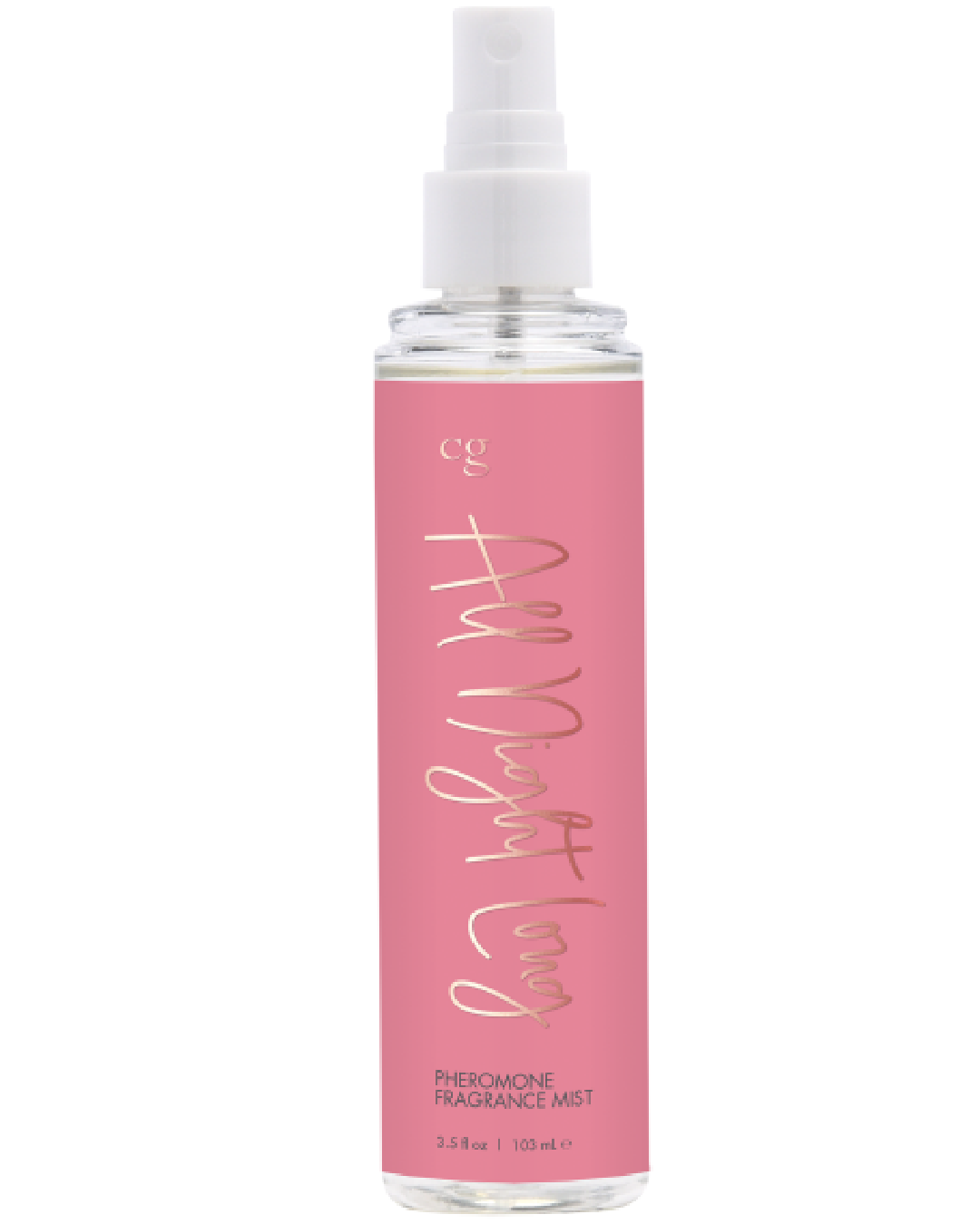 CG All Night Long Body Mist with Pheremones 3.5 oz  bottle without lid