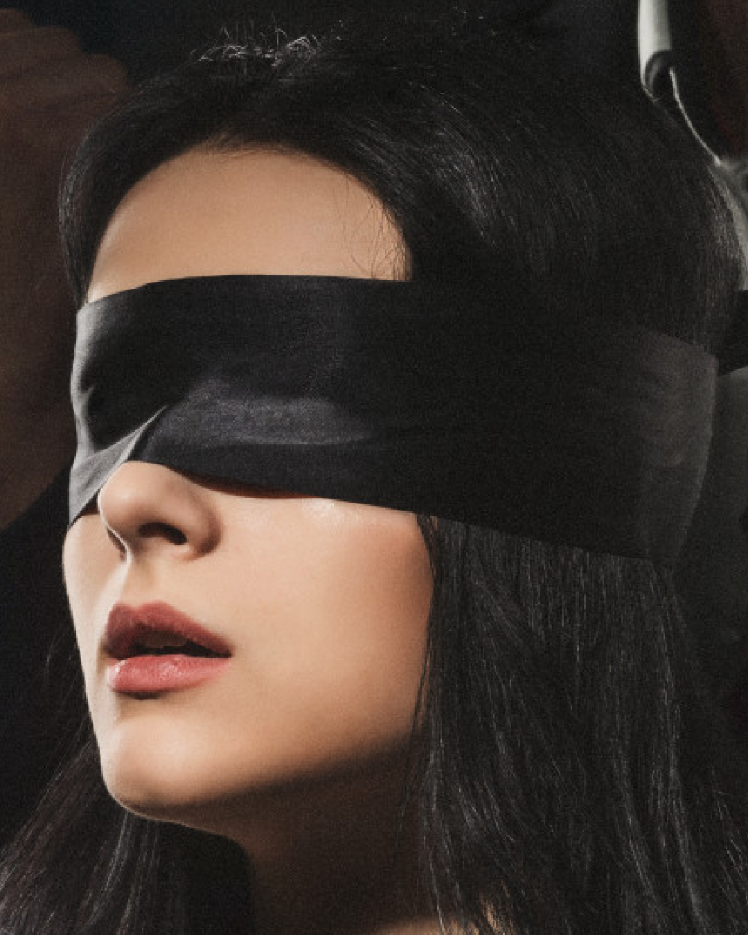 Noir Silky Blindfold  by Blush Novelties