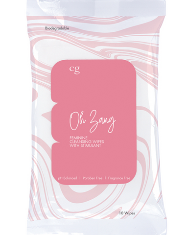CG Oh Zang Feminine Wipes front of package