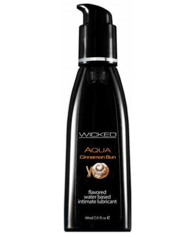 Wicked Aqua Cinnamon Bun Lubricant 2oz