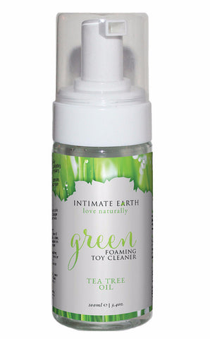 Intimate Earth Green Tea Tree Oil Foaming Toy Cleaner 3.4oz
