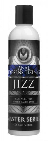 Jizz Water Based Cum Scented Desensitizing Anal Lubricant 8.5oz