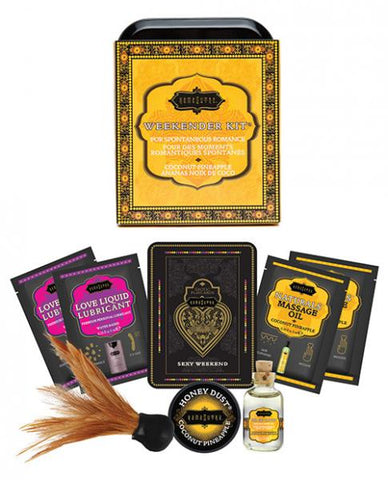 The Kama Sutra Weekender Kit - Coconut Pineapple