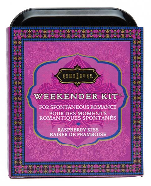 The Kama Sutra Weekender Kit - Raspberry Kiss outer tin
