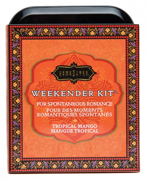The Kama Sutra Weekender Kit - Tropical Mango outer tin