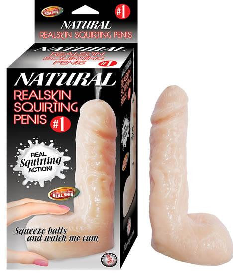 Like real squirting dildo