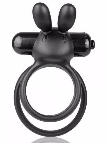 O Hare XL Rabbit Ring Vibrator black