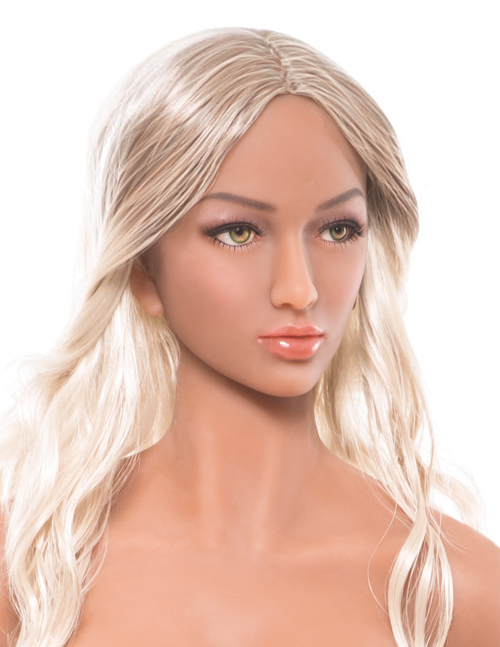Ultimate Fantasy Dolls - Kitty head and shoulders only