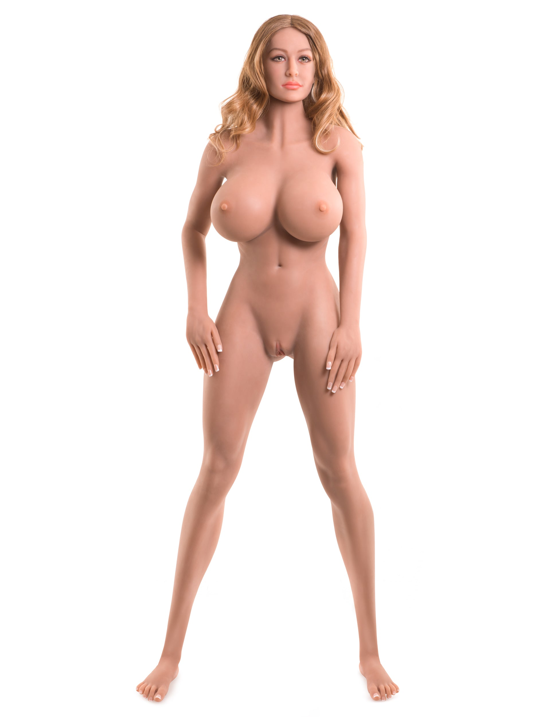 Ultimate Fantasy Dolls - Bianca standing nude in a full frontal beauty shot