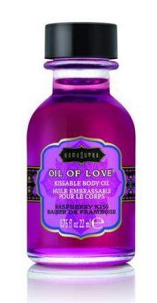 Kama Sutra Kissable Foreplay Oil Of Love .75 fluid ounce - Raspberry Kiss