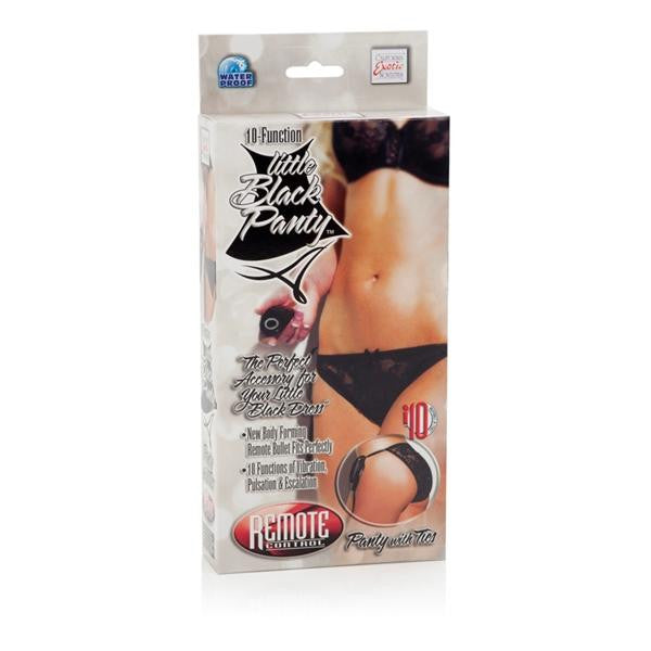 Remote Control 10 Function Little Black Panty package