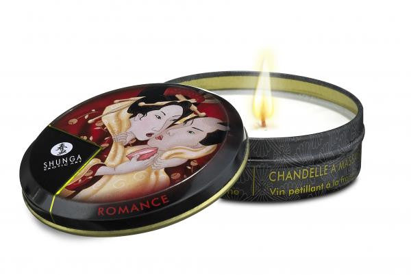 Shunga Erotic Massage Candle Strawberry Wine