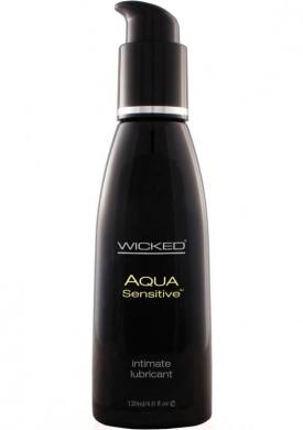 Wicked Aqua Sensitive Lube 4 oz