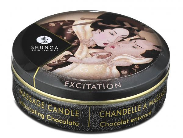Shunga Erotic Massage Candle Chocolate case