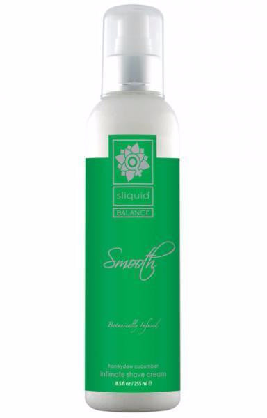 Sliquid Balance Body Shave Cream 8.5oz Honeydew Cucumber