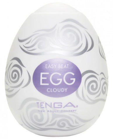 Tenga Egg Disposable Penis Masturbator -Cloudy