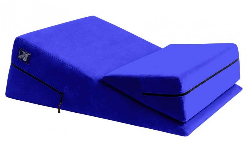 Liberator Wedge and Ramp Combo Sex Positioning Cushion 30 Inches (Plus Size) - Assorted Colors