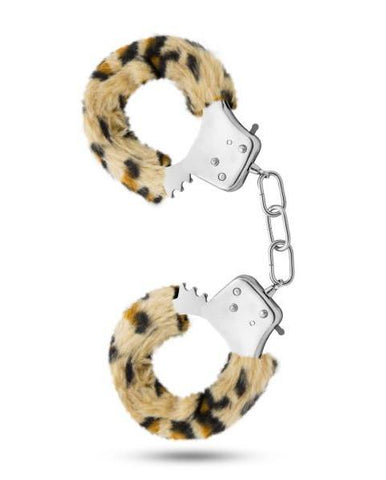 Temptasia Furry Cuffs Handcuffs by Blush Novelties - Assorted Colors