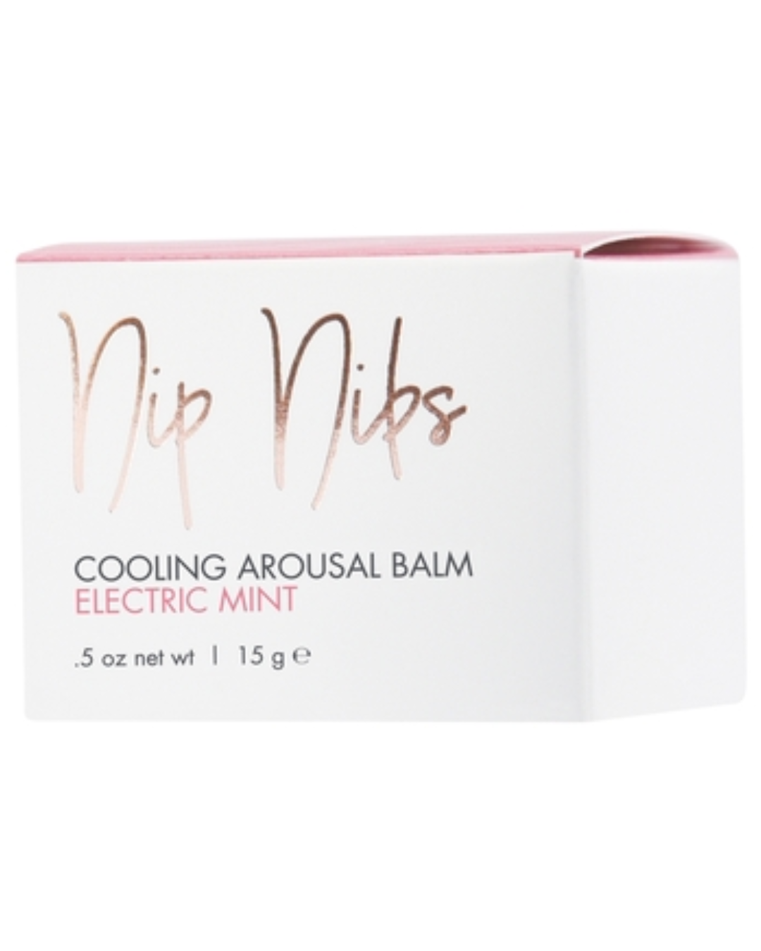 CG Nip Nibs Cooling Arousal Balm .5 oz - Electric Mint box
