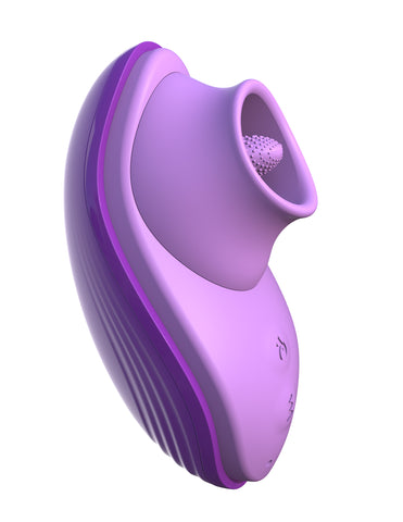 Fantasy For Her Silicone Warming Vibrating Fun Tongue