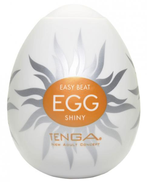 Tenga Egg Disposable Penis Masturbator -Shiny