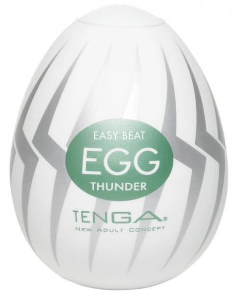 Tenga Egg Disposable Penis Masturbator -Thunder