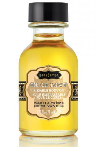 Kama Sutra Kissable Foreplay Oil Of Love .75 fluid ounce - Vanilla Creme