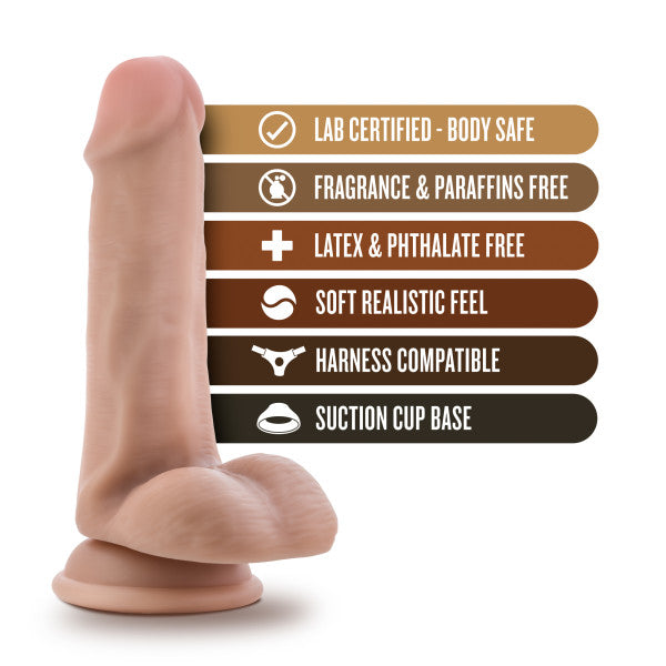 "Loverboy Dildos - Ranger Rob 6"" Dildo by Blush Novelties features"