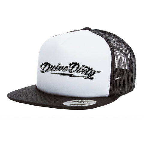 Vintage Foam Trucker Hat - Drive Dirty