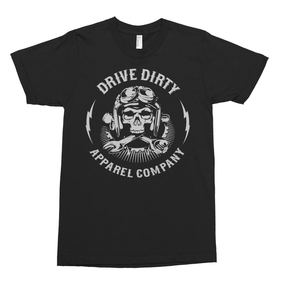 Drive Dirty Apparel Co Skull Tee